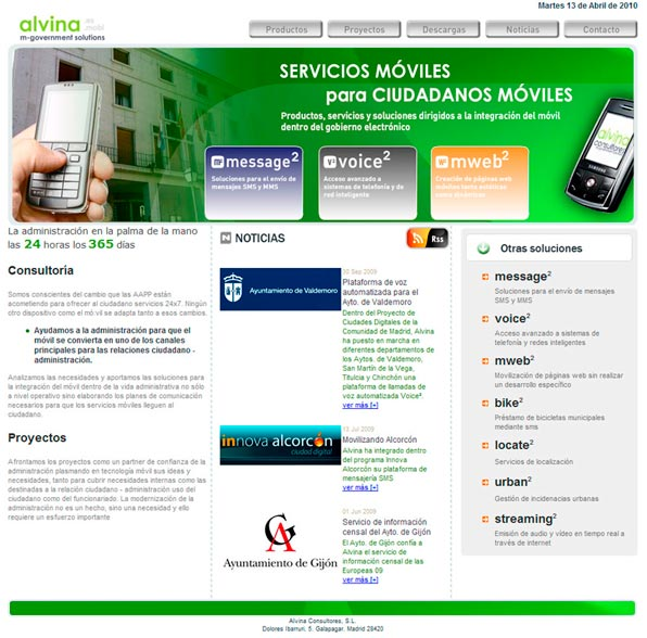 Alvina consultores - m-government solutions | grouplance
